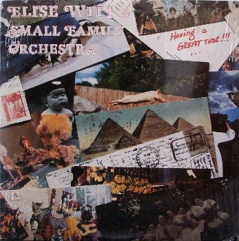 Witt, Elsie & Small Family Orchestra - Having A Great Time - Sealed Vinyl LP Record - Folk