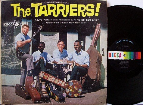 Tarriers - The Bitter End - Vinyl LP Record - with Eric Weissberg - Folk