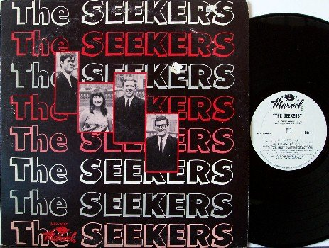 Seekers, The - First Album -Vinyl LP Record - Mono - DJ Copy - Folk