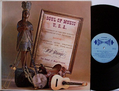 One Hundred One Strings - Soul Of Music USA - Vinyl LP Record - 101 - Folk