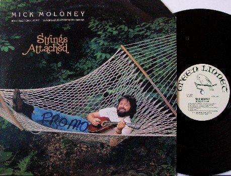Moloney, Mick - Strings Attached - Vinyl LP Record - Irish Folk