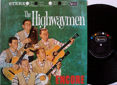 Highwaymen, The - Encore - Vinyl LP Record - Folk