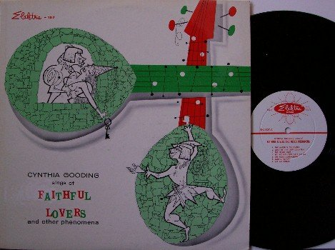 Gooding, Cynthia - Sings Of Faithful Lovers & Other Phenomena - Vinyl LP Record - Original - Folk
