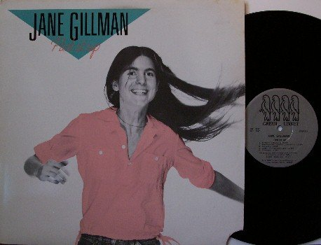 Gillman, Jane - Pick It Up - Vinyl LP Record - 1986 with Lyle Lovett - Folk Blues Cajun Rock