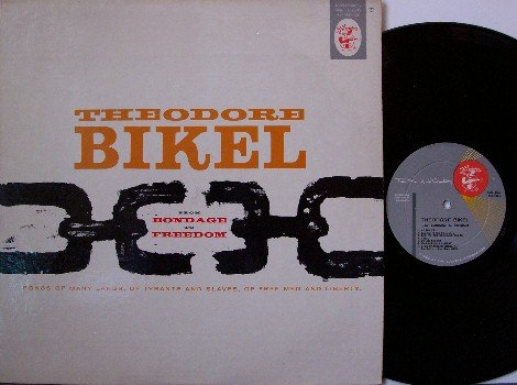 Bikel, Theodore - From Bondage To Freedom - Vinyl LP Record - Original - Folk