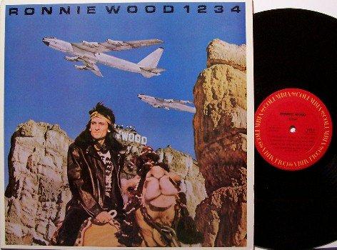 Wood, Ron - 1234 - Vinyl LP Record - Promo - Rock