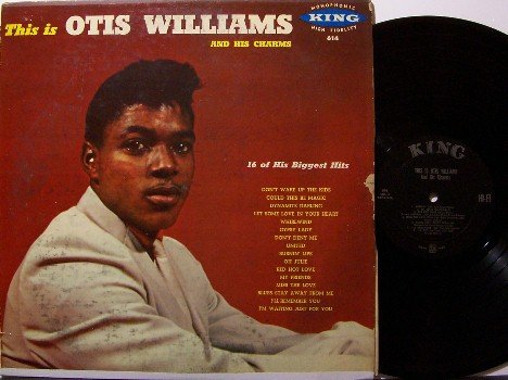 Williams, Otis & His Charms - This Is - Vinyl LP Record - Original Mono 1st Pressing- R&B Soul Rock