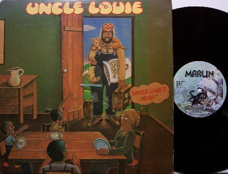 Uncle Louie - Uncle Louie's Here - Vinyl LP Record - R&B Funk