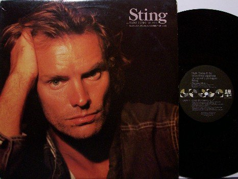 Sting - Nada Como El Sol - Vinyl LP Record - Sung in Spanish - Promo - The Police - Rock