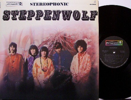 Steppenwolf - Self Titled First Album - Vinyl LP Record - Stereo / Stereophonic - Rock