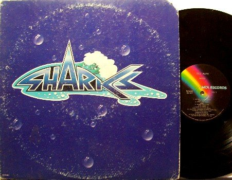 Sharks - First Water - Vinyl LP Record - 1973 with Chris Spedding - Rock