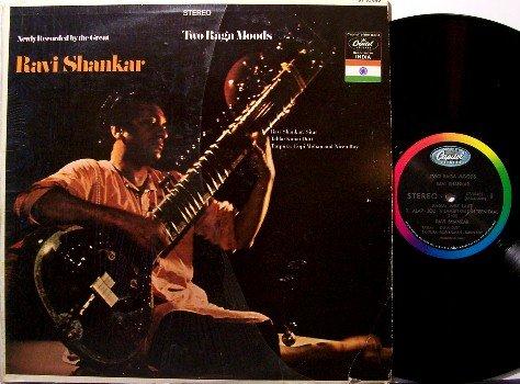 Shankar, Ravi - Two Raga Moods - Vinyl LP Record - India Sitar - World