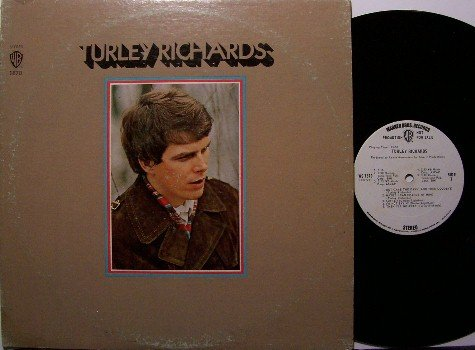 Richards, Turley - Vinyl LP Record - White Label Promo - Bob Dylan - Folk Rock