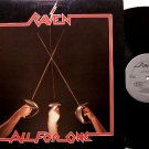 Raven - All For One - Vinyl LP Record - Megaforce Label - Metal Rock