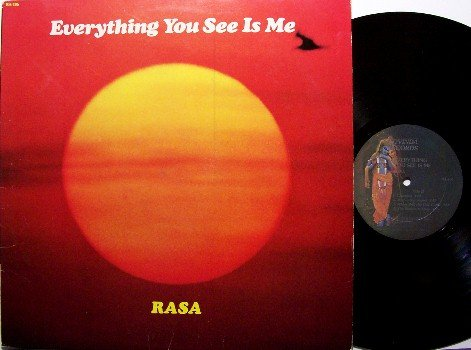 Rasa - Everything You See Is Me - Vinyl LP Record - Krsna - Rock
