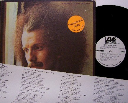 Quarto, Charles John - Vinyl LP Record - White Label Promo - with Insert - Poetry - Rock
