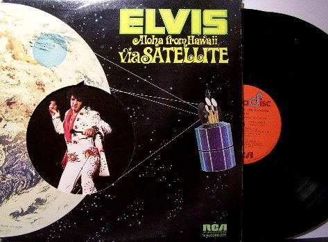 Presley, Elvis - Aloha From Hawaii - 2 Vinyl LP Record Set - Rock