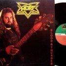 More - Blood & Thunder - Vinyl LP Record - Rock