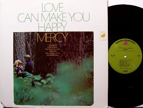 Mercy - Love Can Make You Happy - Vinyl LP Record - Rock