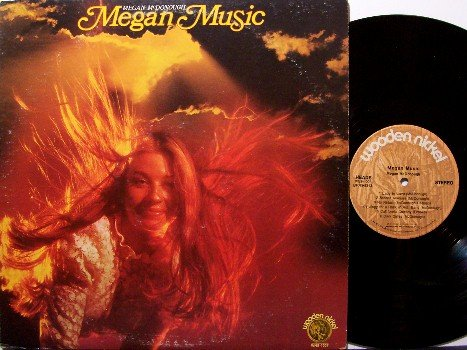 McDonough, Megan - Megan Music - Vinyl LP Record - John Denver - Rock
