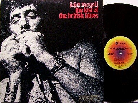 Mayall, John - The Last Of The British Blues - Vinyl LP Record - Promo