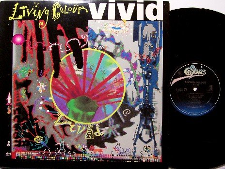 Living Colour - Vivid - Vinyl LP Record - Color - Rock