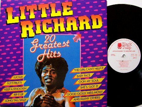Little Richard - 20 Greatest Hits - Vinyl LP Record - West Germany Pressing - Rock