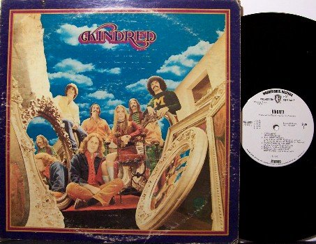 Kindred - Vinyl LP Record - Chuck Negron / Three Dog Night - Rock
