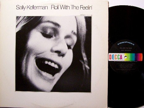 Kellerman, Sally - Roll With The Feelin' - Vinyl LP Record - Hot Lips in M.A.S.H. Movie - Rock