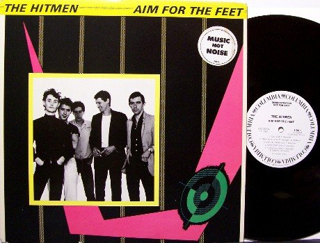 Hitmen, The - Aim For The Feet - White Label Promo - Vinyl LP Record - Rock