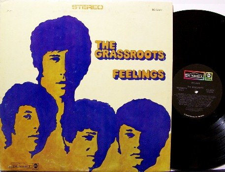 Grass Roots, The - Feelings - Vinyl LP Record - Grassroots - Rock