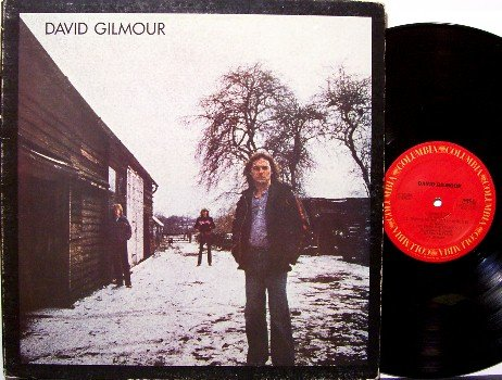 Gilmour, David - Self Titled - Vinyl LP Record - Pink Floyd - Rock