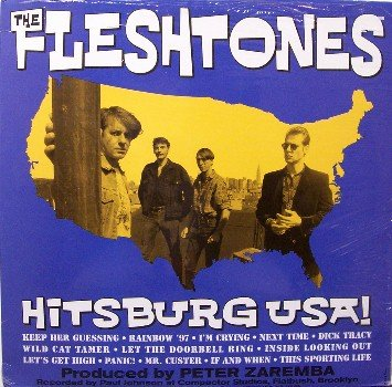 Fleshtones, The - Hitsburg USA - Sealed Vinyl LP Record - Rock