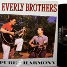 Everly Brothers - Pure Harmony - Vinyl LP Record - UK Pressing - Original Cadence Recordings - Rock