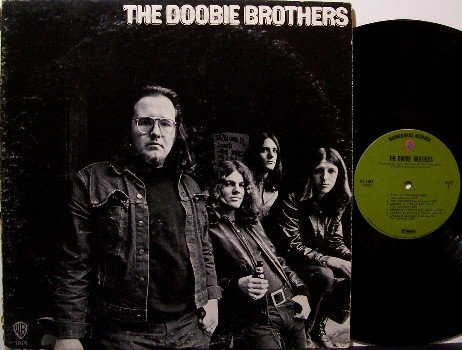 Doobie Brothers - Self Titled - Vinyl LP Record - Rock