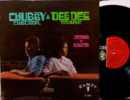 Checker, Chubby & Dee Dee Sharp - Down To Earth - Vinyl LP Record - Cameo Mono - 1962 - R&B Soul
