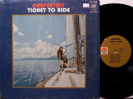 Carpenters, The - Ticket To Ride - Vinyl LP Record - Pop