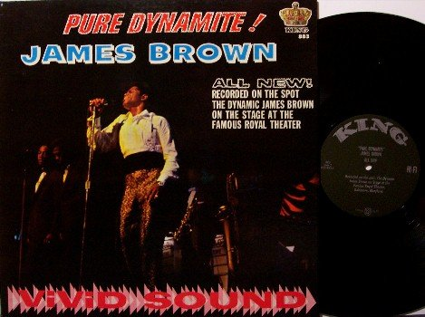 Brown, James - Pure Dynamite - Vinyl LP Record - King Mono - Black Label - R&B Soul