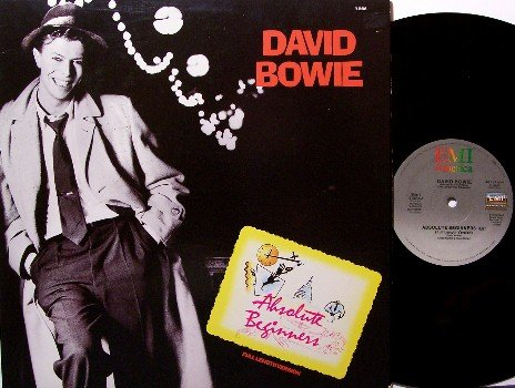 "Bowie, David - Absolute Beginners (2 Mixes) - Vinyl 12"" Single Record - Rock"