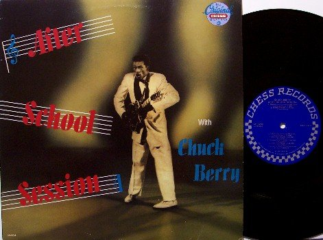 Berry, Chuck - After School Session - 1989 Pressing - Vinyl LP Record - Rock
