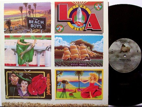 Beach Boys, The - LA (Light Album) - Vinyl LP Record - L A - Rock