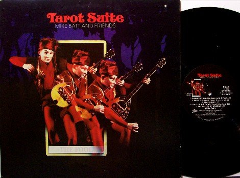 Batt, Mike & Friends - Tarot Suite - Vinyl LP Record - Rock