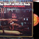 Wurst Of P.D.Q. Bach, The - Professor Peter Schickele - 2 Vinyl LP Record Set - Odd Unusual