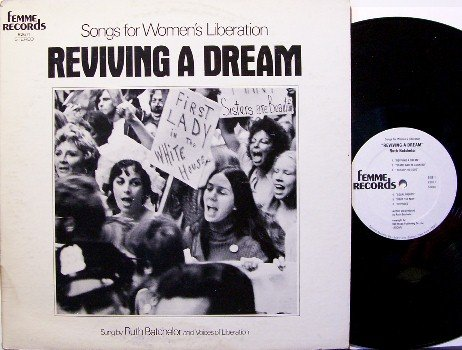 Women's Liberation Reviving A Dream - Ruth Batchelor - Vinyl LP Record - Femme - Lib - Odd Unusual