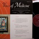 Voice Of Medicine - Recorded Medical Journal - Vinyl LP Record - Odd Unusual