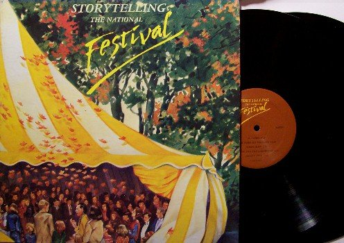 Storytelling The National Festival - 2 Vinyl LP Record Set - NAPPs - Jonesborough, TN - Odd Unusual