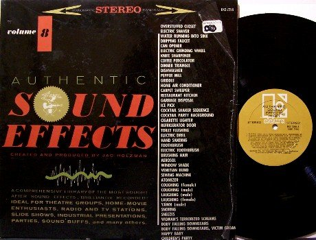 Sound Effects - Vinyl LP Record - Elektra Volume 8 - Odd Unusual