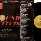 Sound Effects - Vinyl LP Record - Elektra Volume 8 - Odd Unusual