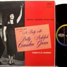 Party With Betty Comden & Adolph Green, A - Vinyl LP Record - Broadway Comedy - Odd Unusual