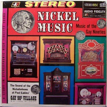 Nickel Music - Sealed Vinyl LP Record - Nickelodeon / Early Juke Box Music - Odd Unusual